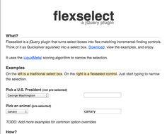 Jquery FlexSelect http://rmm5t.github.io/jquery-flexselect/