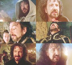 Alan as Sheriff George of Nottingham. One of the best death scenes ever in movie history.