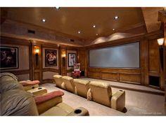 Movie room.