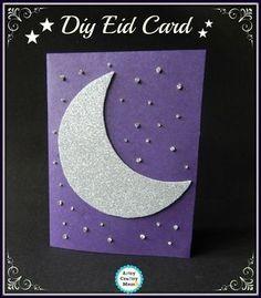 A Crafty Arab: 99 Creative Eid Projects. diy eid card