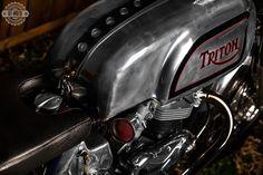 Triton 650 Pre Unit Cafe Racer ~ Return of the Cafe Racers