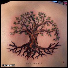 Tattoo Tatuagem do dia/ ARVORE