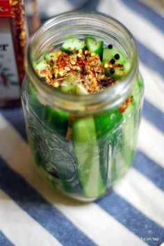 Spicy Garlic Dill Beer Pickles