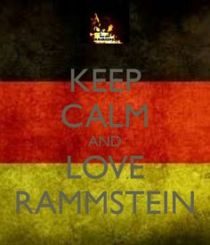Love Rammstein. Number one on the list of bands I really need to see.