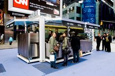 container snackbox in times square