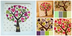 Family Tree Wall Canvas (Deep Frame) - The Supermums Craft Fair