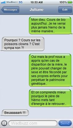 Quotes for Fun QUOTATION - Image : As the quote says - Description Le glauque Monde de Némo Sharing is love, sharing is everything Funny Texts, Funny Jokes, Hilarious, Funny Cute, The Funny, Funny Images, Funny Pictures, Ah Ok, Rage