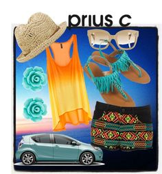 Go on Tour with Prius c, created by kailan-white on Polyvore
