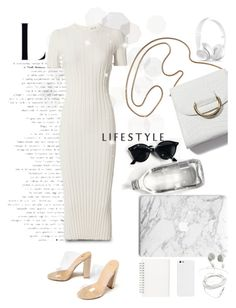 """simple & classy"" by ane-56 on Polyvore featuring Helmut Lang and Muji"