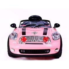 girls pink minimotos 6v mini ride on car with rem 28448