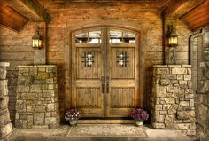 double front entry doors medieval speakeasy . portico carport entry outdoor lighting wall lantern lights Land's End Development