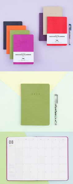 My next year planning becomes lot more fun with the 2018 Ardium Crocodile Journal! This Journal has a luxurious crocodile-scale like cover and the right contents to help you organize your plans for your upcoming events.