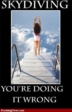 funny skydiving pics - Google Search