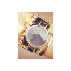 Hot Summer Fashion Trends: Arm Party - BeautyRiot.com - Add a watch -... via Polyvore