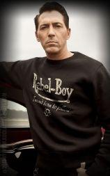 Rumble59 - Sweatshirt - Rebel-Boy - noir