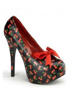 Teeze-12 Cherry Bow Shoe