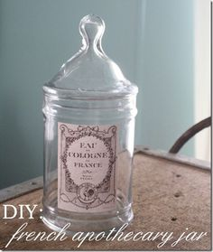 French apothecary jars
