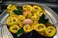 La creatività e i suoi colori: Colomba di Pasqua farcita in versione salata