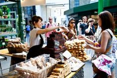 Bread Ahead - Bakery Stall & Bakery School #London #England #UK