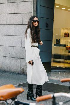 MILAN FASHION WEEK STREET STYLE #3 http://FashionCognoscente.blogspot.com