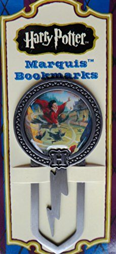 Harry Potter Quidditch Marquis Enameled Metal Bookmark @ niftywarehouse.com #NiftyWarehouse #HarryPotter #Wizards #Books #Movies #Sorcerer #Wizard