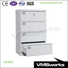 China Standard Dimensions Hoizontal Lateral Metal File Storage Cabinet,  Office Cabinet Storage, Metal File