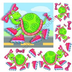 Turtle Skater Part 1 product from FUN4U on TeachersNotebook.com