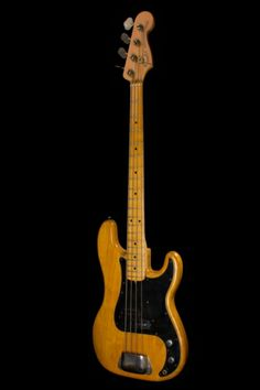 1975 Fender® Precision Bass® Natural, Excellent, $2,200.00 (via Gbase.com)