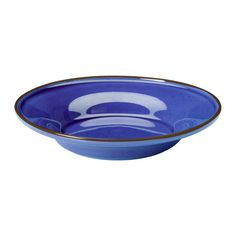 TRIVSAM Bowl IKEA Variations in the glaze give life and character to each plate.