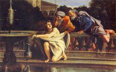 susanna and the elders  | Domenichino.Susanna and the elders.1603.[Doria Pamphill] - a photo on ...