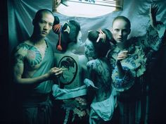 """Photographer Tim Walker arrives in Japan for the first time: For the British version of """"VOGUE"""" photographed modern Ukiyo-e 14"""