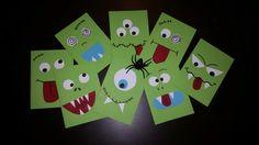 Monster Geburtstagskarten  #Einladungskarten #kinder # Halloween Halloween 2019, Halloween Party, Monster Party, Birthday, Diy, Inspiration, Monsters, Post, Handmade Cards