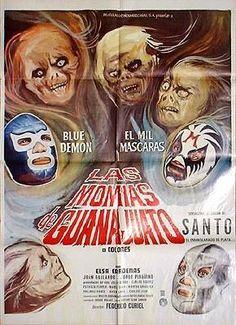 Santo contra las momias de Guanajuato. 1972