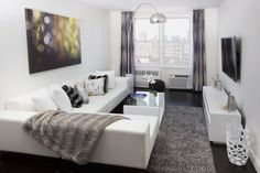 New york city apartment living room!