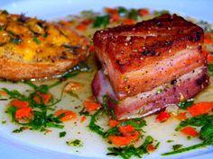 Tom Colicchio's Braised Fresh Bacon Recipe