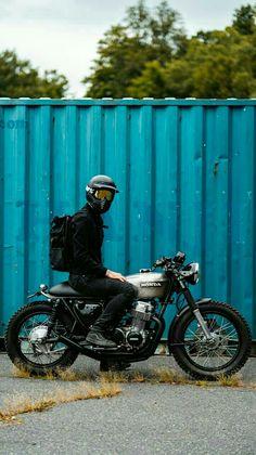 Cb750 Cafe Racer, Cafe Racer Bikes, Cafe Racer Motorcycle, Moto Bike, Motorcycle Design, Scrambler, Motocross Bikes, Cool Motorcycles, Vintage Motorcycles