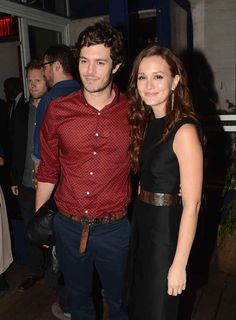 Adam Brody and Leighton Meester. | 25 Celebrity Couples Who Restored Your Faith In Love In 2013