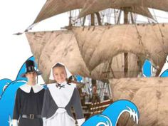 They Were the Pilgrims!      M-A-Y-F-L-O-W-E-R... THAT SPELLS MAYFLOWER!...  November Song http://www.youtube.com/watch?v=8gW7JJw9-tg&list=PLIy0lpOE3t63BoVWfSSs2vsTg5CYcrFgf&index=4