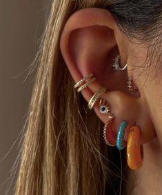 Nail Jewelry, Cute Jewelry, Jewelery, Jewelry Accessories, Funky Jewelry, Hippie Jewelry, Trendy Jewelry, Bijoux Piercing Septum, Ears Piercing