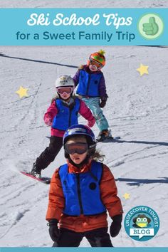 15 ski school tips for a successful family ski trip by Undercover Tourist.