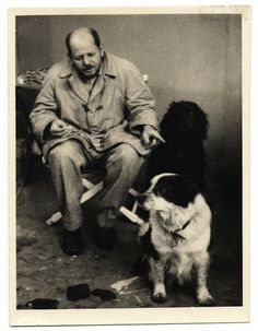 Jackson Pollock ~ 16 Brilliant Artists And Their Animal Muses