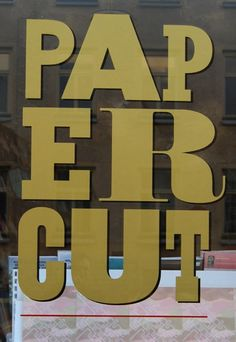 "Papercut, STOCKHOLM, a great shop for magazines, dvd's and books. If you are lusting after Nesting by Cilla Ramnek and Pia Ulin, also called ""The Swedish version of The Selby"", this is the place to get it. Don't miss the neighbouring stores Nitty Gritty and Our Legacy. Krukmakargatan 24-26"