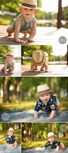 Wyatt 6 months | Canton Baby Photography
