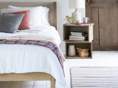 We Love... New Bed Linen  Spoil your house guests (or yourself) this Christmas with a new set of bed linen from Loaf. Inspired by some linen they found in a hotel on the French island of Ile de Re, Lordy is made from 100% Belgian linen with a beautiful hand-applied border. Bedtime has never been so chic.