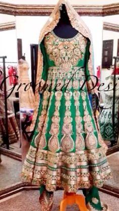 Mehndi Indian Anarkali, Mehndi, Dream Wedding, Traditional, Summer Dresses, Fashion, Moda, Summer Sundresses, Fashion Styles