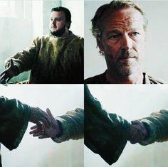 Ser Jorah Mormont and  Samwell  Tarly
