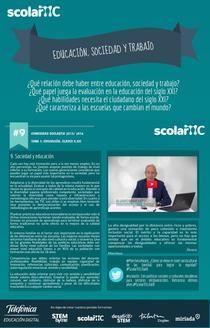 Relación educación, sociedad y trabajo ALVARO MARCHESI | Piktochart Infographic Editor