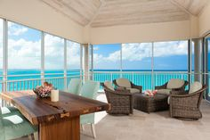 Three Bedroom Oceanfront Suite - Turks And Caicos Resort ~ The Venetian On Grace Bay Turks And Caicos Resorts, Grace Bay Beach, Bay Photo, Penthouse Suite, Luxury Accommodation, Beaches In The World, Outdoor Furniture Sets, Outdoor Decor, Beach Cottages