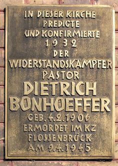 """Dietrich Bonhoeffer Was Not Considered a """"Martyr"""" By His Own Church… Dietrich Bonhoeffer, Operation Valkyrie, Today In History, Praying To God, Great Leaders, Christen, Jesus Quotes, Kirchen, Deep Thoughts"""
