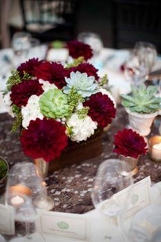 Heavenly Blooms: Love Succulently - A Modern Winery Wedding {Part 2} Santa Ynez